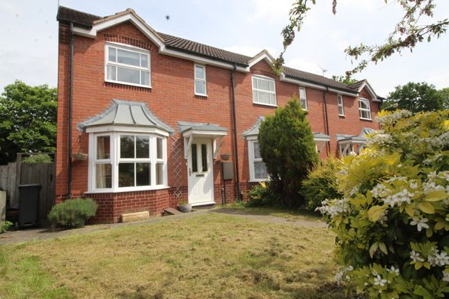 Thumbnail End terrace house to rent in Swift Close, Kenilworth