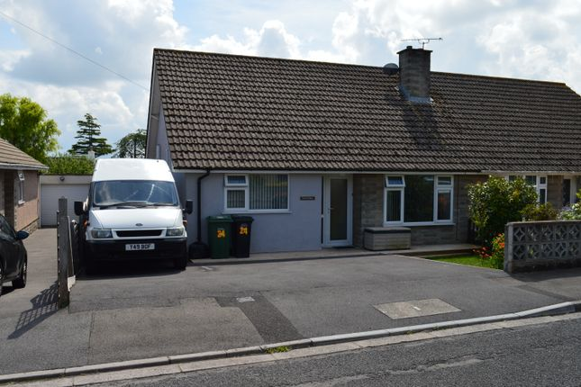 Thumbnail Semi-detached bungalow for sale in Cherrywood Road, Worle, Weston-Super-Mare