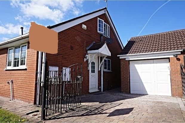 Thumbnail Semi-detached bungalow for sale in Amethyst Court, New Waltham, Grimsby