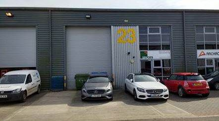 Thumbnail Warehouse for sale in Industrial Unit At Io Centre Redhill, Salbrook Road, Redhill, Surrey