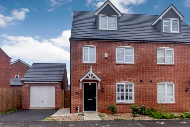 Thumbnail Semi-detached house for sale in Linacre Crescent, Leicester, Leicester