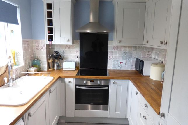 Thumbnail Terraced house to rent in Glastonbury Close, Belmont, Hereford
