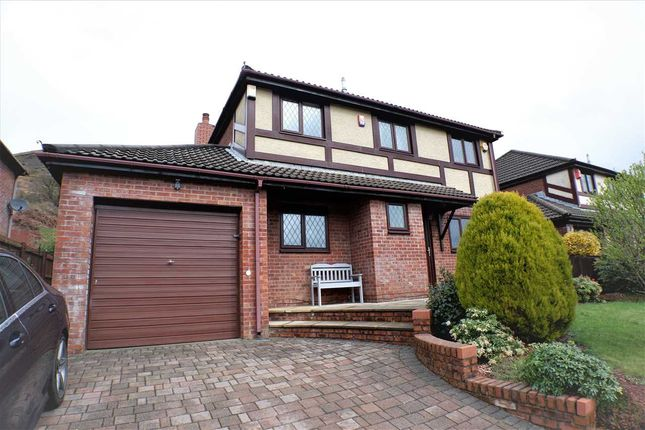 Thumbnail Detached house for sale in Oakland Drive, Pentre