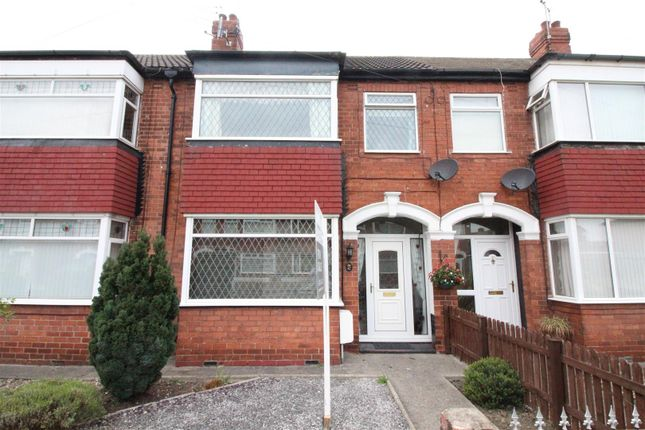 Thumbnail Terraced house for sale in Bernadette Avenue, Anlaby Common, Hull