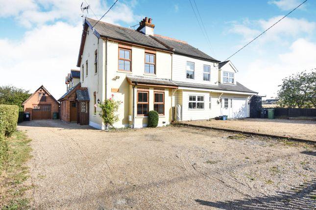 Thumbnail Semi-detached house for sale in Fambridge Road, North Fambridge