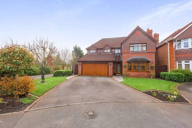 Thumbnail Detached house for sale in Fareham Close, Walton-Le-Dale, Preston