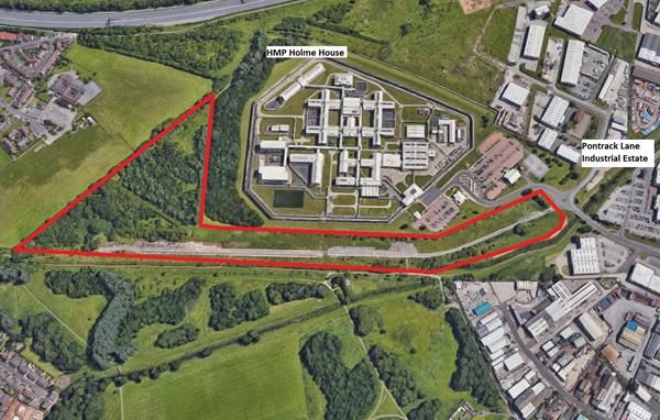 Thumbnail Land to let in Yard/Compounds 1 To 23 Acres, Holme House Road, Pontrack Lane, Stockton-On-Tees