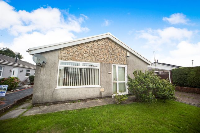 Thumbnail Detached bungalow for sale in Fairmound Place, Tonteg, Pontypridd