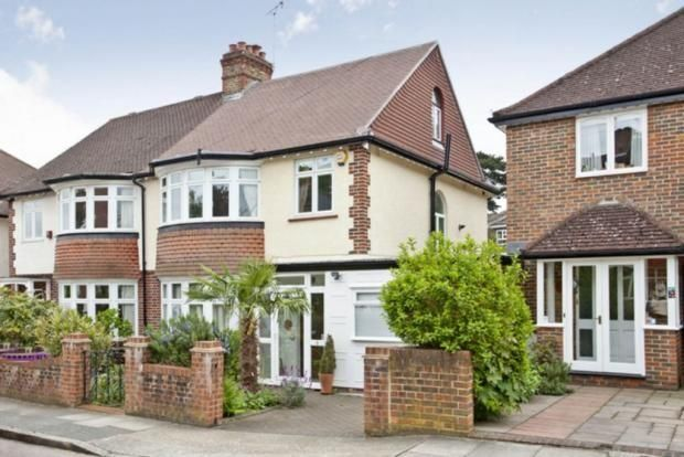 Thumbnail Semi-detached house to rent in Clive Road, Twickenham