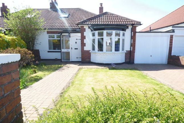 Thumbnail Bungalow for sale in Huntcliffe Gardens, North Heaton, Newcastle Upon Tyne