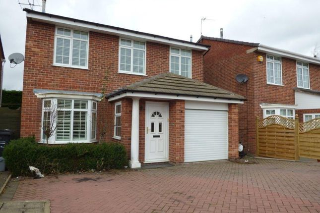 Thumbnail Detached house for sale in Orchard Way, Leicester