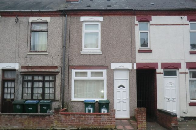 Thumbnail Terraced house to rent in Northfield Road, Stoke, Coventry