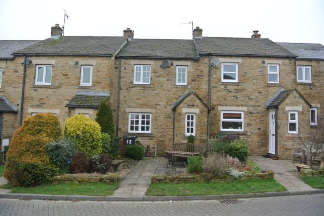 Thumbnail Terraced house to rent in Redmire, Leyburn
