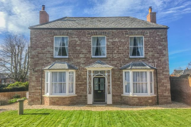 Thumbnail Detached house for sale in Ashfield Crescent, Ross-On-Wye
