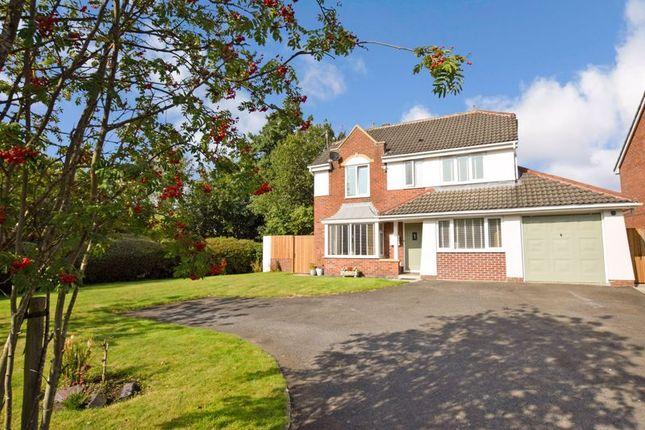 Thumbnail Detached house for sale in Ellerbeck Crescent, Walkden, Manchester