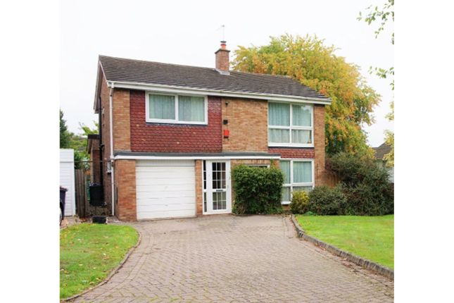 Thumbnail Detached house for sale in Winchfield Drive, Birmingham