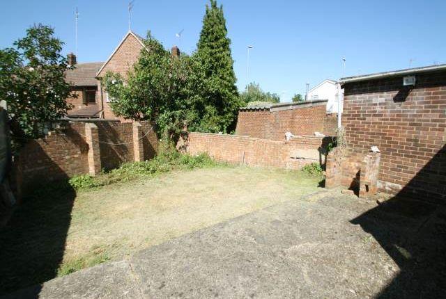 Garden of Medway Road, Gillingham, Kent ME7