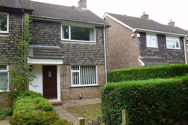 Thumbnail End terrace house to rent in Winchat Close, Binley, Coventry, West Midlands