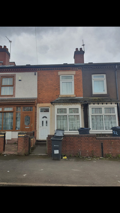 Thumbnail Terraced house for sale in Ronald Road, Birmingham