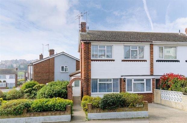 Thumbnail Semi-detached house for sale in Crow Hill, Broadstairs