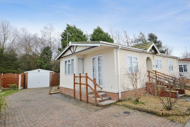 Thumbnail Mobile/park home for sale in Brockton Close, Severn Gorge Park, Madeley, Telford, Shropshire.