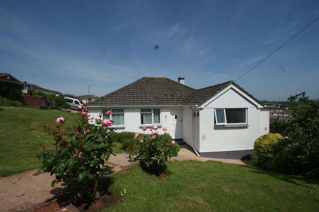 Thumbnail Detached bungalow for sale in Primley Park, Paignton