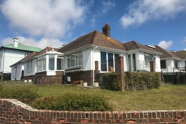 Thumbnail Detached bungalow to rent in Chichester Drive East, Saltdean