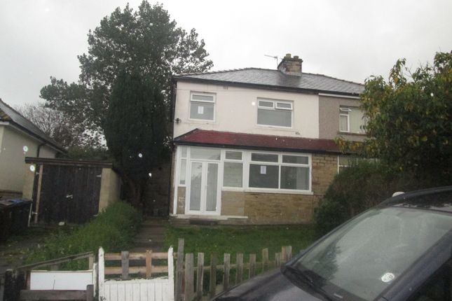 Thumbnail Semi-detached house to rent in Rayner Avenue, Bradford