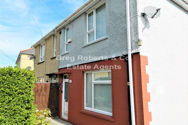 Thumbnail Semi-detached house for sale in Laburnam Avenue, Tredegar, Blaenau Gwent.