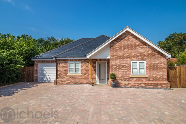 Thumbnail Bungalow for sale in Stanway Green, Colchester