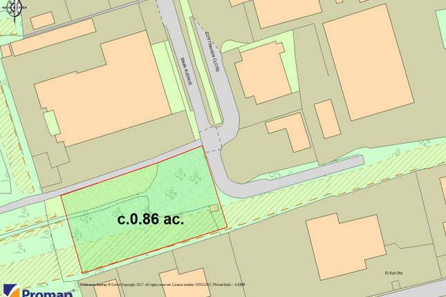 Thumbnail Land for sale in Brackla Industrial Estate, Bridgend