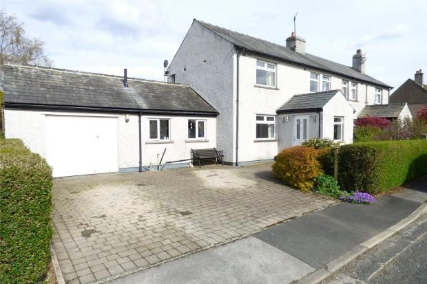 Thumbnail Semi-detached house for sale in Nether View, Wennington, Lancaster
