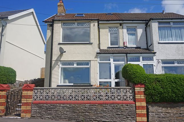 Thumbnail Semi-detached house for sale in Graig Road, Hengoed