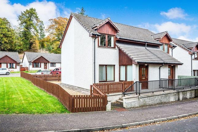 Thumbnail Semi-detached house for sale in The Orchard, Alness