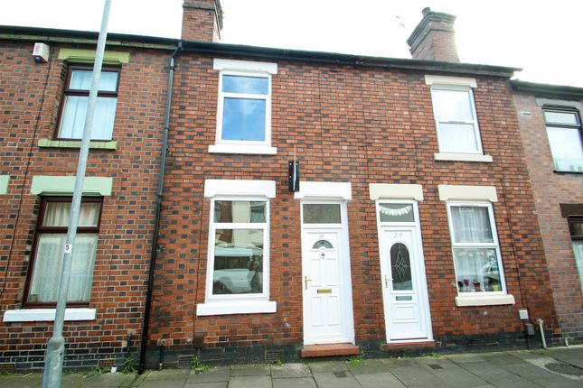 Thumbnail Terraced house to rent in Foley Street, Fenton, Stoke-On-Trent