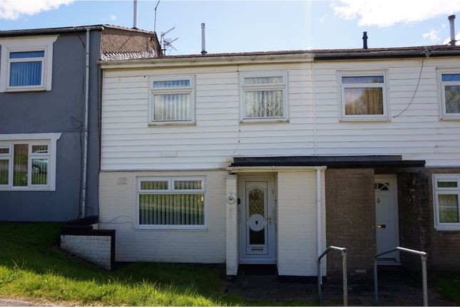Thumbnail Terraced house for sale in Lupin Close, Merthyr Tydfil