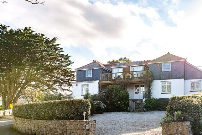 Thumbnail Flat for sale in Boskerris Road, Carbis Bay, St. Ives, Cornwall