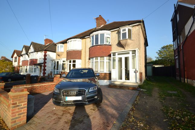 Thumbnail Semi-detached house to rent in Grand Avenue, Berrylands, Surbiton