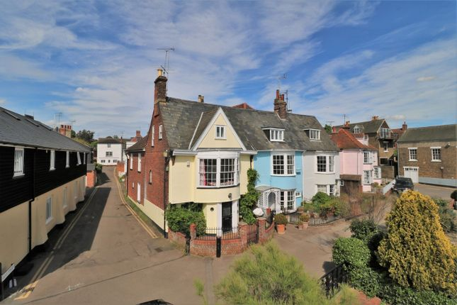 Thumbnail End terrace house for sale in The Quay, Wivenhoe, Colchester, Essex