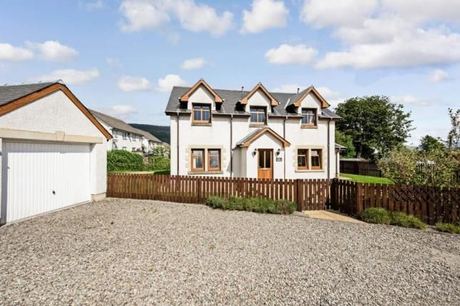 Thumbnail Detached house for sale in Stewart Road, Killin, Stirlingshire