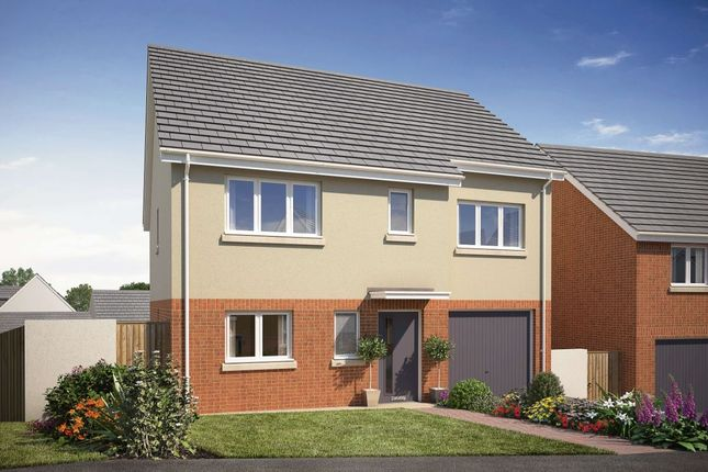 Thumbnail Detached house for sale in The Helmsley Saxon Way, Kingsteignton, Newton Abbot