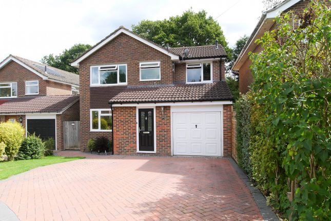 Thumbnail Detached house to rent in Ryecroft Meadow, Mannings Heath, Horsham