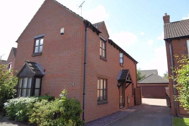 Thumbnail Detached house for sale in Touchstone Road, Heathcote, Warwick