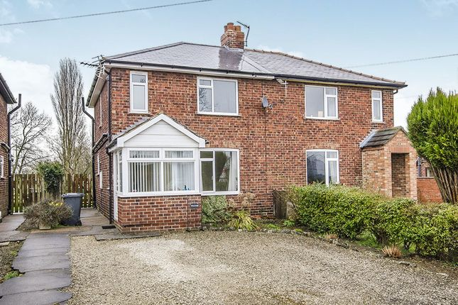 Thumbnail Semi-detached house to rent in Main Street, West Haddlesey, Selby