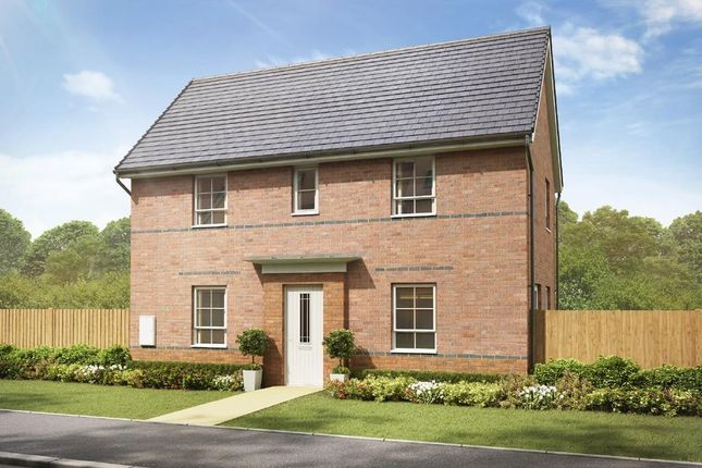 "3 bedroom detached house for sale in ""Moresby"" at Crewe Road, Shavington, Crewe"