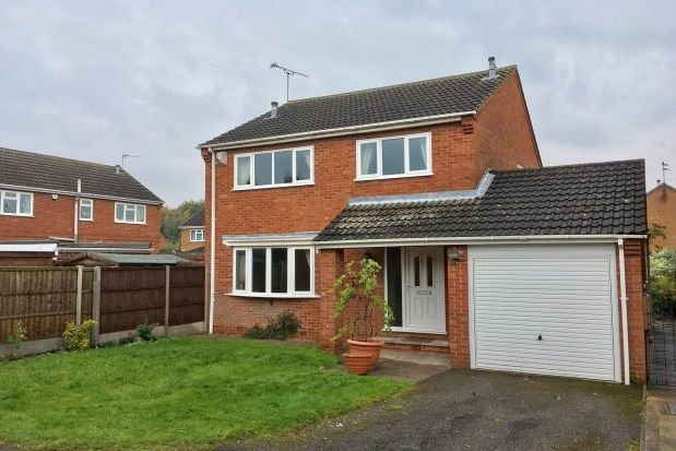 Thumbnail Property to rent in Pitsford Drive, Loughborough, Leics