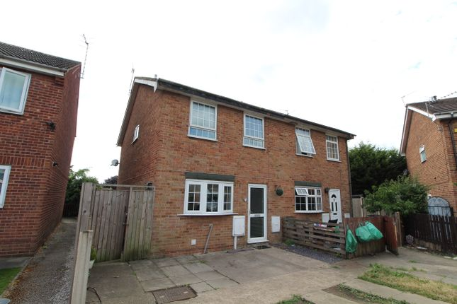 Thumbnail Semi-detached house to rent in Cloudside Court, Sandiacre, Nottingham