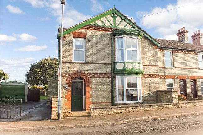 Thumbnail End terrace house to rent in High Street, Offord Cluny, St Neots, Cambridgeshire