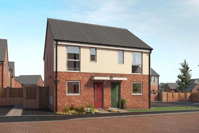 Thumbnail Semi-detached house for sale in Bucknall Grange Eaves Lane, Bucknall, Stoke-On-Trent