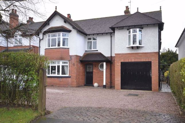 Detached house for sale in Newcastle Road, Stone